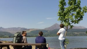 Five Lads on the Isle of Arran