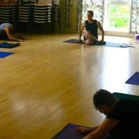 The Yang Yin Yoga Glastonbury Summer classes - no ohmming and no holding hands